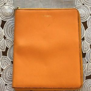 "COACH Leather Tablet Case Fit 9 5/8""x7 5/8"" Tablet"